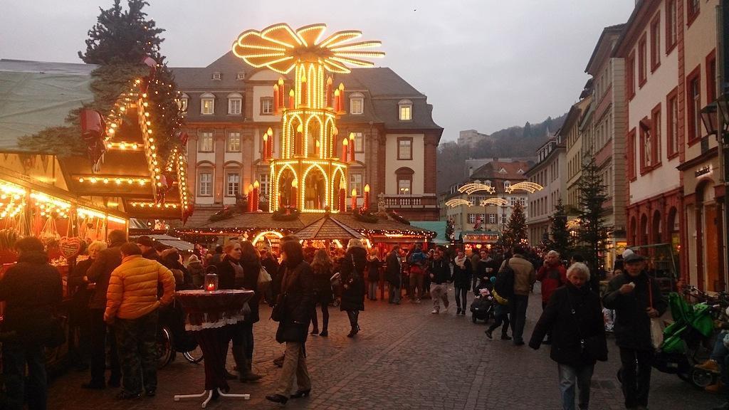 Mercado de Natal de Heidelberg