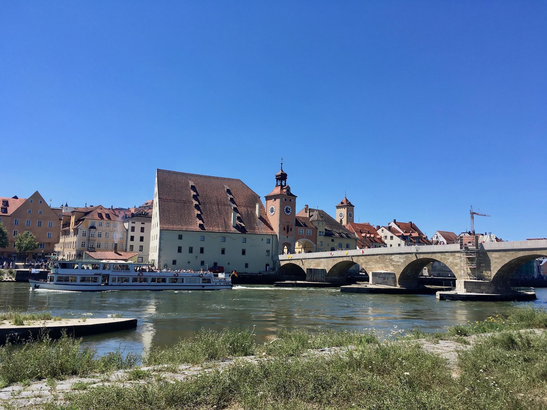 Regensburg no verao