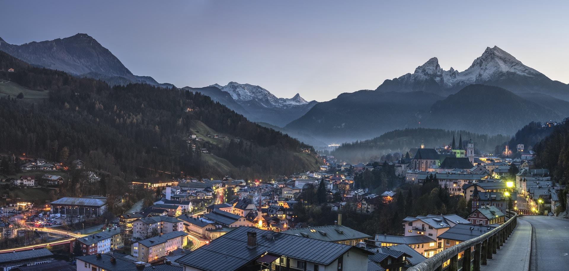 Lua de mel em Berchtesgaden, Alemanha