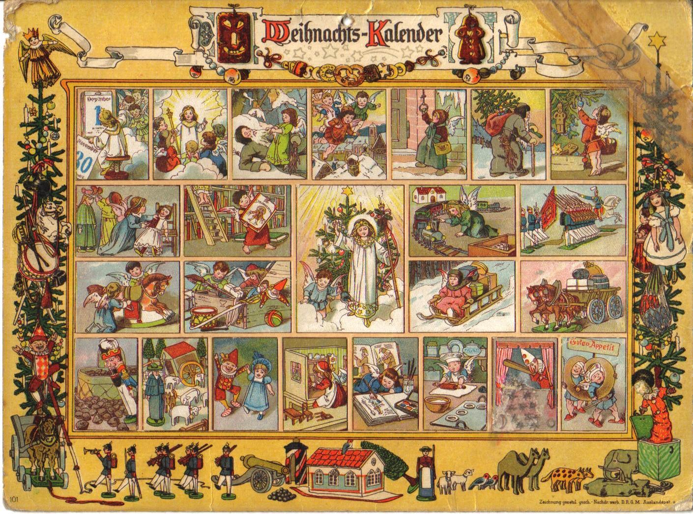 calendário de Advento Na Terra do Menino Jesus