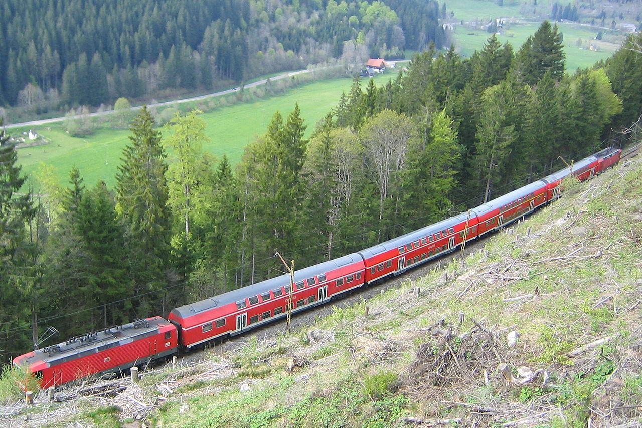 Dreiseenbahn, Alemanha