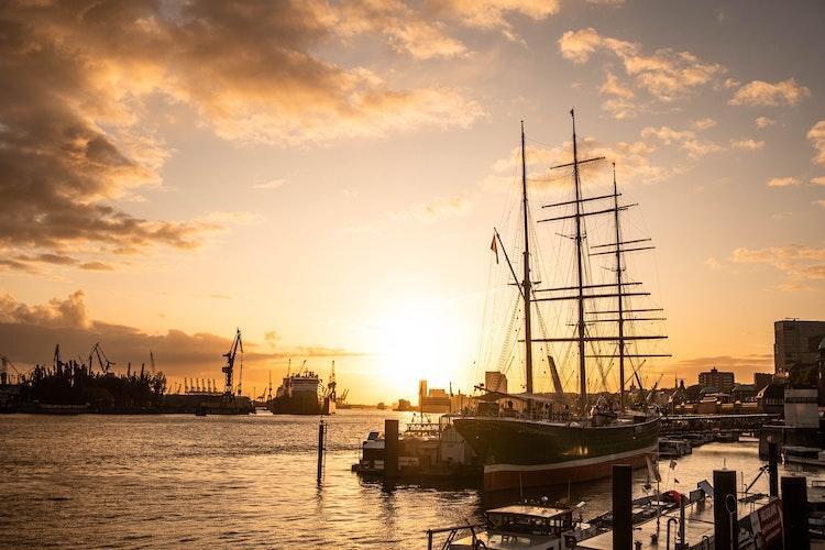 Porto de Hamburgo, Alemanha