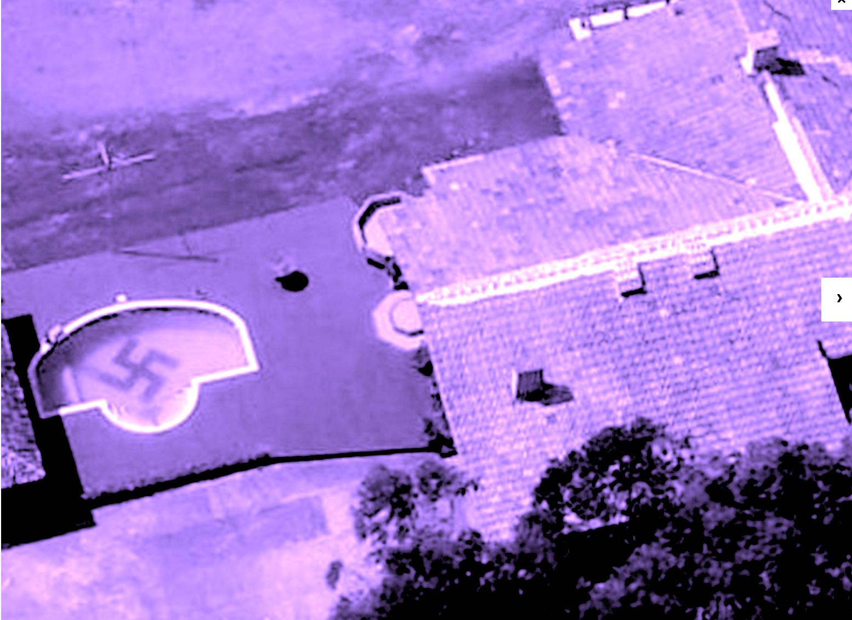 Tiete de Hitler constrói piscina nazista e leva um balde de água fria