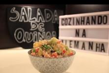 Cozinhando na Alemanha | Salada de Quinoa com Salmão defumado