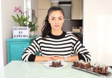 Bolo Brownie 2 Chocolates | Cozinhando na Alemanha
