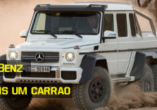 Made in Germany - Mercedes Benz lança 6x6