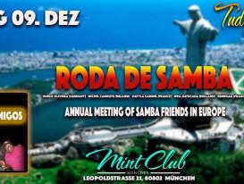 Encontro anual dos amigos do samba na Europa