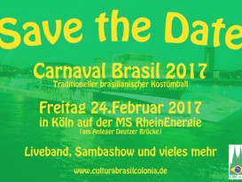 Save the Date - Carnaval 2017