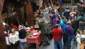 Markt in der Fabrik