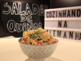 Salada de Quinoa com Salmão Defumado  | Cozinhando na Alemanha