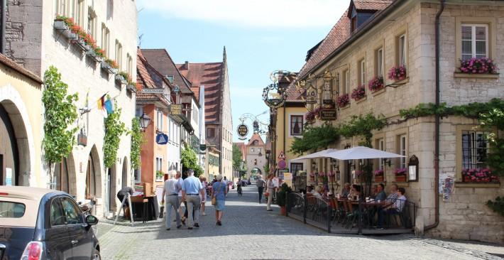 Fim de tarde em Sommerhausen