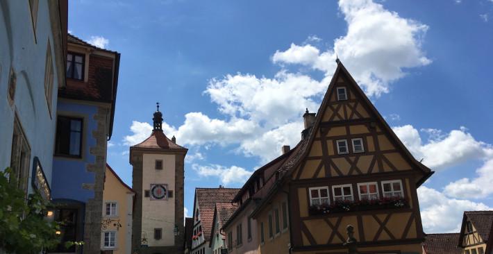 Centro histórico de Rothenburg ob der Tauber