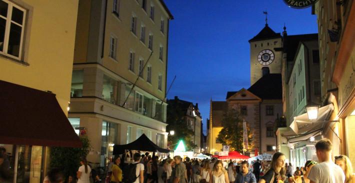Centro histórico de Regensburg