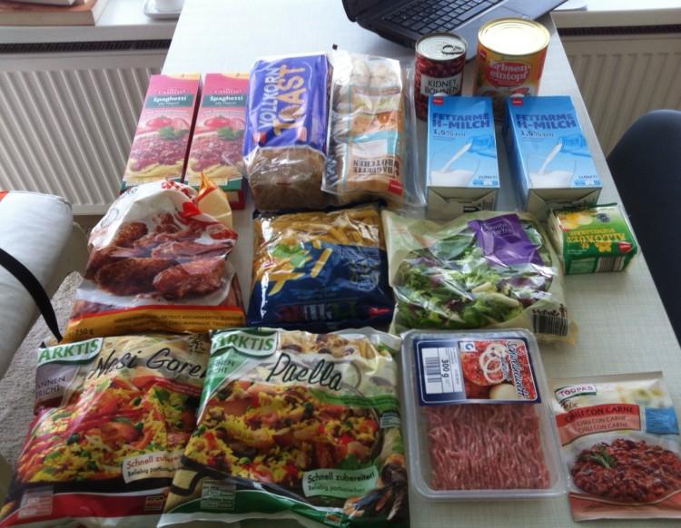 Estudar na Alemanha - Custo de Alimentação na Alemanha