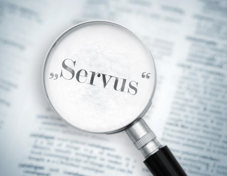"""A Origem da Palavra """"Servus"""""""