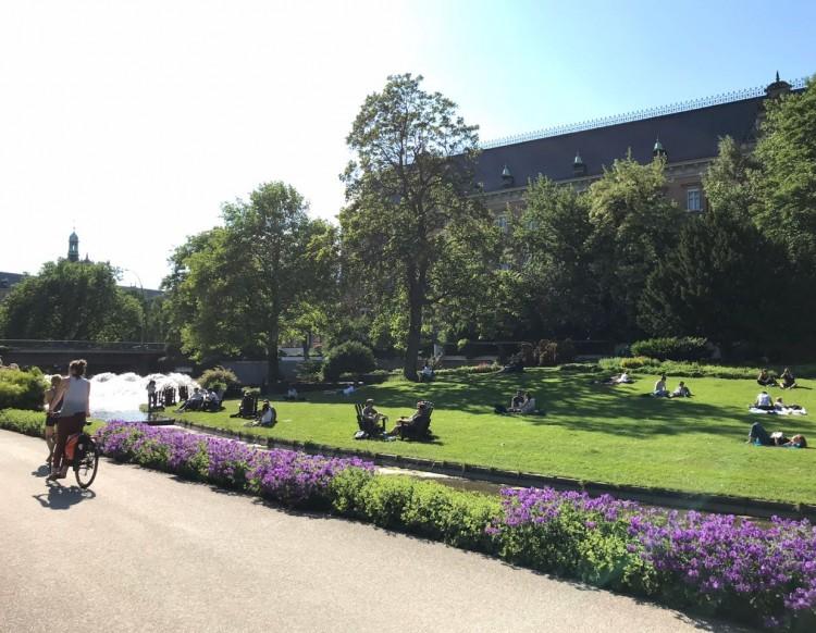 A Alemanha e seu verão