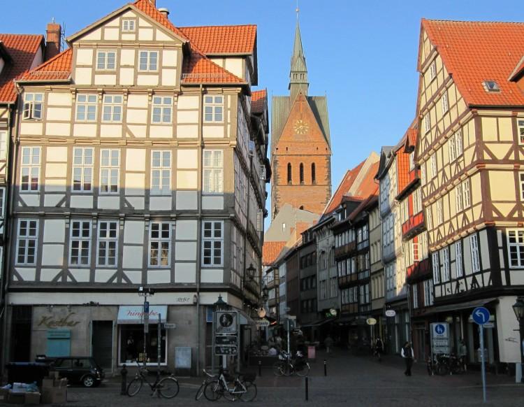 Alemanha - Um dia em Hannover