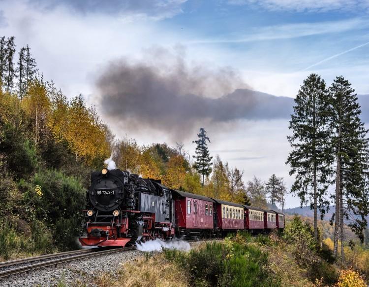As mais lindas rotas de trem da Alemanha