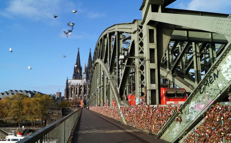 Colônia - Ponte Hohenzollen